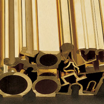 Brass Extrusion Profile Section